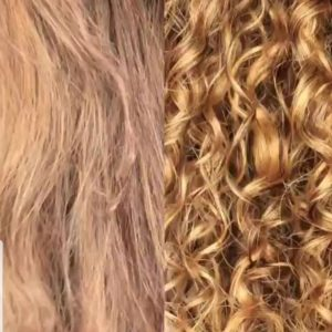 Haircare for curly hair
